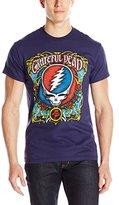 Liquid Blue Men's Grateful Dead Steal Your Roses Short Sleeve T-Shirt