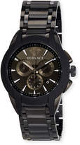 Versace 42.5mm Men's Character Chronograph Watch, Black