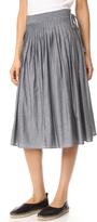 Vince Skinny Stripe Skirt