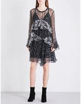 IRO Gypsy ruffled chiffon dress
