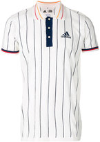 adidas NY stripe polo shirt