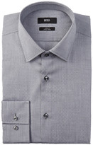 HUGO BOSS Jenno Oxford Slim Fit Dress Shirt