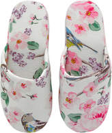 Cath Kidston Scattered Meadowfield Birds Hotel Slippers