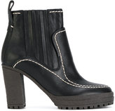 See by Chloe stitched ankle boots