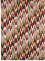 "Horchow ""Zaging Chevron"" Rug"