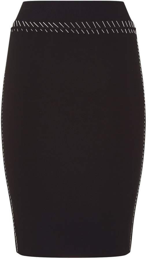 Alexander Wang Pin Embellished Bodycon Skirt