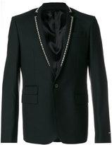 Les Hommes studded blazer - men - Polyester/Spandex/Elastane/Viscose/Wool - 48