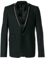 Les Hommes studded blazer - men - Polyester/Spandex/Elastane/Viscose/Wool - 50