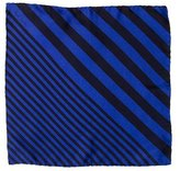 Paul Smith Striped Silk Pocket Square w/ Tags