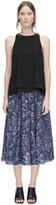 Rebecca Taylor Block Print Skirt