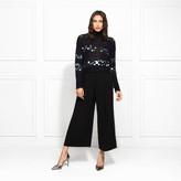 Rachel Zoe Briana Paillette Embellished Turtleneck Sweater
