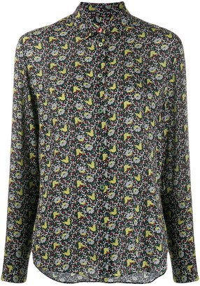 Paul Smith Woven Floral Blouse