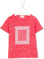 Simple bandana print T-shirt
