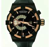 Concord C1 WorldTimer Rose Gold Men's Automatic Watch