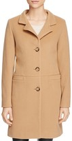 Cinzia Rocca Icons Three-Button Front Wool-Blend Coat