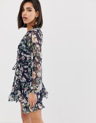 The Jetset Diaries fleur mini dress
