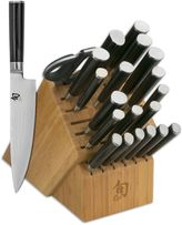 Shun Classic 21-Piece Mega Knife Block Set