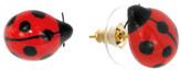 Nach Mini Ladybird Porcelain Earrings
