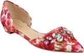 Liz Claiborne Teagan Pointed-Toe Jeweled Flats