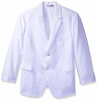 Perry Ellis Men's Big-Tall Linen Suit Jacket