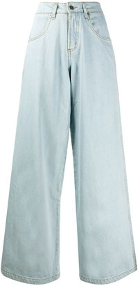Societe Anonyme High Rise Wide Leg Jeans