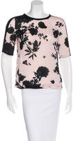 A.L.C. Silk Floral Top