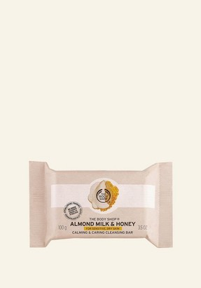 The Body Shop Almond Milk & Honey Cleansing Bar 3.5 OZ