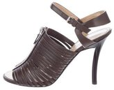 Proenza Schouler Multistrap Leather Sandals