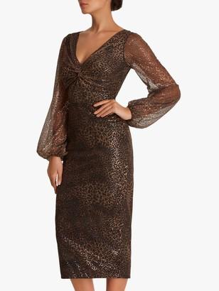 Fenn Wright Manson Amanda Holden Collection Jane Dress, Gold