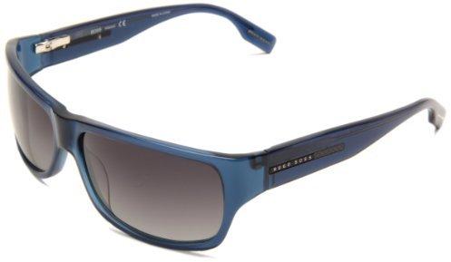 HUGO BOSS Boss By Men's B0423PS Rectangle Sunglasses