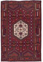 Ecarpetgallery Hand-knotted Persian Darjazin Red Wool Rug (4'1 x 6'4)