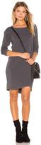 Sundry Asymmetrical Slub Spandex Dress