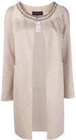 Talbot Runhof Duna coat - women - Cotton/Polyamide/Polyester/Spandex/Elastane - 42