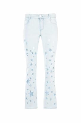 Stella McCartney Flared Star Print Jeans