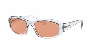 Arnette Women's An4266 Lizard Oval Sunglasses