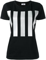 Jil Sander vertical stripe T-shirt - women - Cotton - S