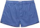 Derek Rose - Ledbury Printed Cotton Boxer Shorts