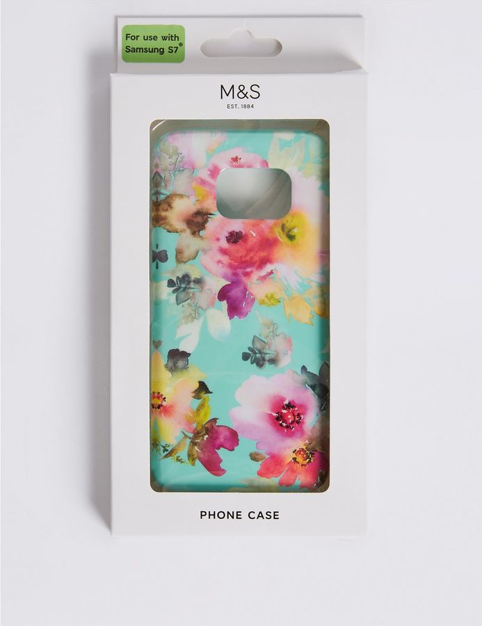 Marks and Spencer Samsung S7® Floral Print Phone Case
