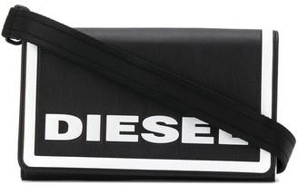 Diesel Embossed Logo Clutch