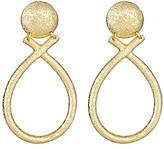 Yochi Door Knocker Earrings