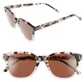 Komono Women's Renee 52Mm Sunglasses - Black Sand