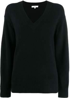 Vince oversized long-sleeve sweater