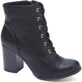Wild Diva Black Jessica Boot