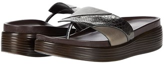 Donald J Pliner Fifi 21 (Gunmetal) Women's Sandals