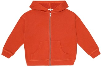 Caramel Vauxhall cotton hoodie