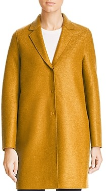 Harris Wharf Virgin Wool Overcoat