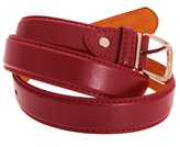 Forest Belts Mens One Inch Bonded Real Leather Belt