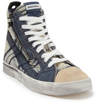 Diesel Velows Distressed High Top Sneaker