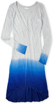 Splendid Girls 7-16) Dip-Dye Long Cardigan