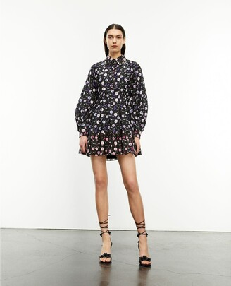 The Kooples Short printed shirt dress